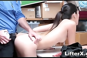 ASIAN CUTIE BUSTED FOR STEALING- LifterX.com
