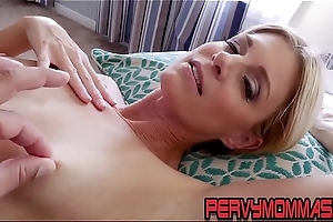 Extraordinary milf pov riding stepsons flannel coupled with giving blowjob