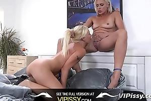 Vipissy - Rough dildo play for filthy piss loving sluts