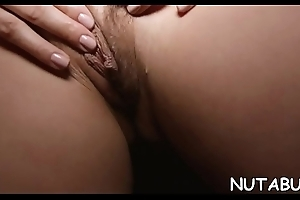 Youthful appealing babe prefers solo actions to achieve agonorgasmos