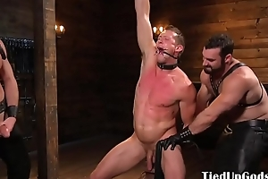 Dominated ray dildo fucked and verecund