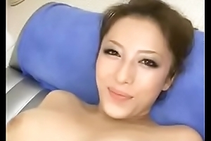 Luring Busty Japanese MILF s Cunt Creampied