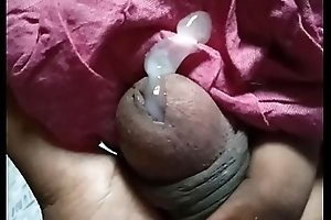 Squeezing Small Indian Cock to Cum
