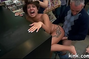 Intense bdsm sex plus anal fisting with beautiful hot babe!