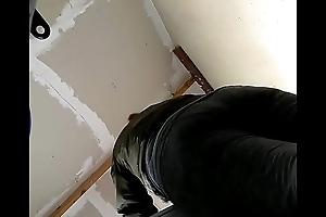 persian milf bending over heavy bubble butt