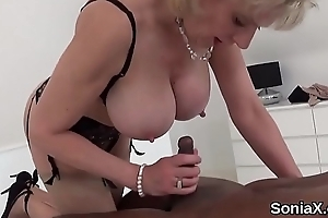 Adulterous uk mature lady sonia largess their way monster boobs