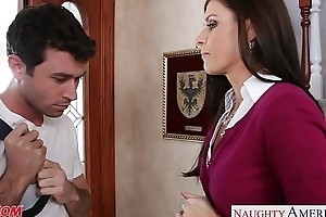 Compacted titted mama india summer fucking