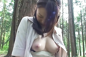 Subtitled uncensored japan milf forest dildo orall-service