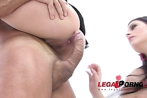 Alice good & sheryl fascinating merely anal fucking 0% cookie (atm, atogm) sz621