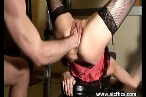 Brutally fisting rachels unseal pussy