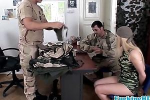 European military hottie print permeated