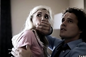 Young girlfriend piper perri group-fucked by drug dealers