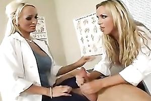 Nikki Benz and Lichelle Marie sharing big throbbing bushwa motivation them