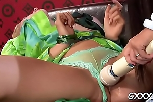 Lustful mature lesbian gets their way pussy worked hard by paramour